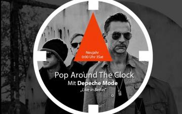 Püntklich zum Jahreswechsel: Depeche Mode-Konzert auf 3Sat