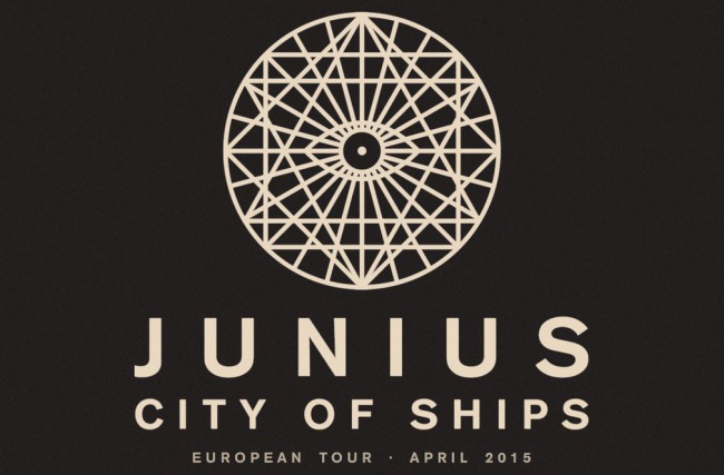 PiN präsentiert: Junius & City of Ships Europa Tour 2015