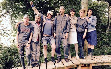 Jens Rachut – The King of Punk stattet Leipzig mit seiner All-Star-Band Ratttengold einen Besuch ab