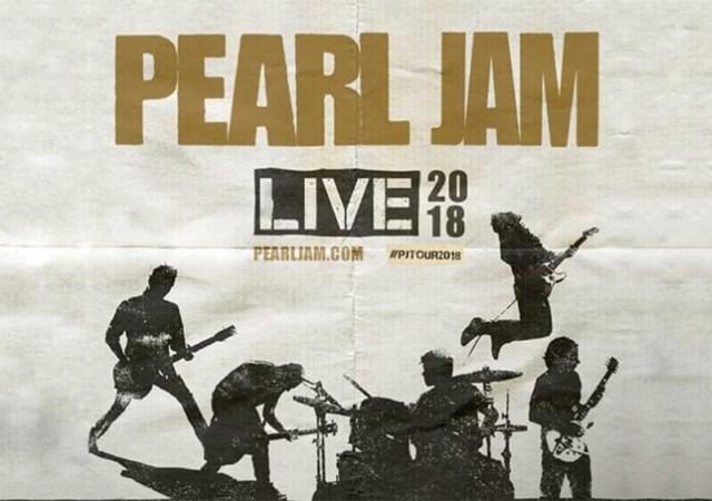 Pearl Jam Live 2018