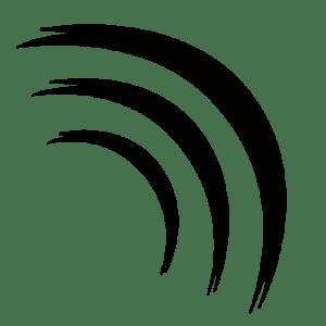 Pretty in Noise Logo PiN Button