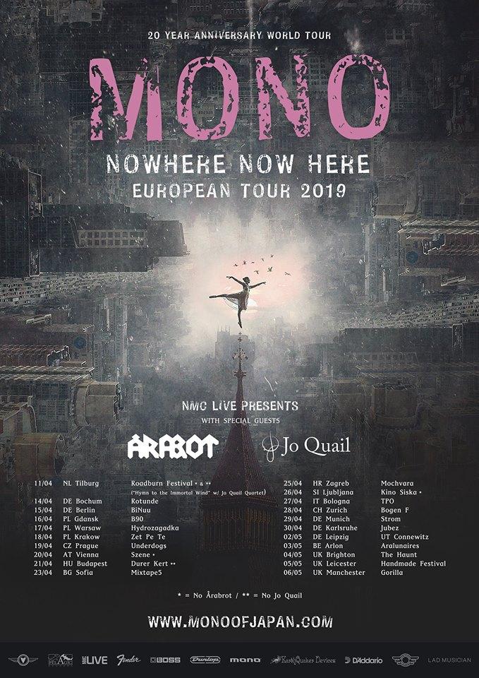 Mono Tour 2019