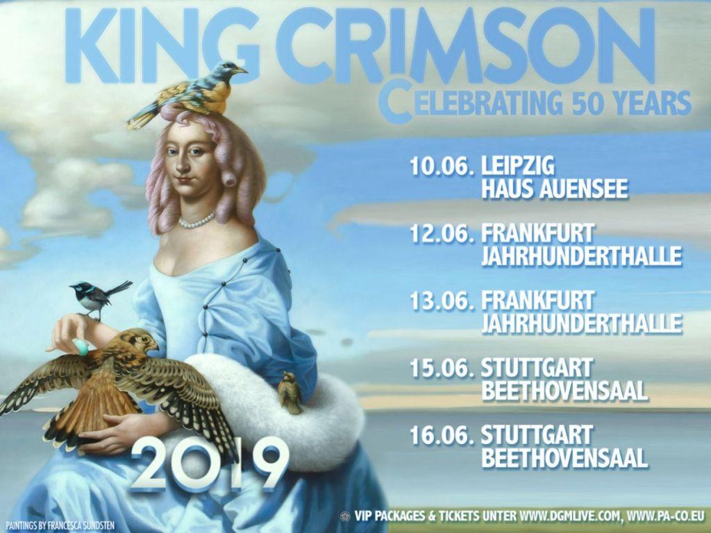 King Crimson live 2019
