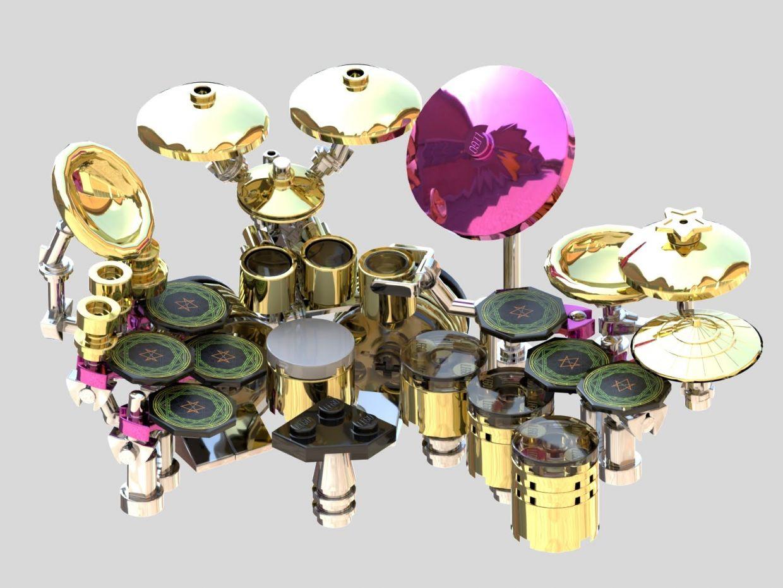 Danny Carey Lego Drumset