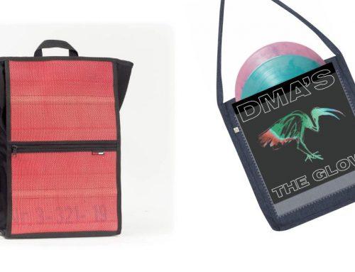 Gewinne einen Rucksack aus Feuerwehrschlauch der Marke Feuerwear oder eine Plattentasche von Tony & Sophia